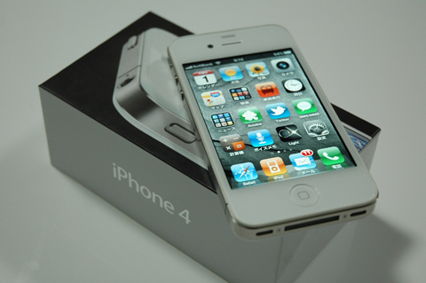 iPhone 4 ホワイトモデル
