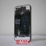 限りなく透明な iPhone 4