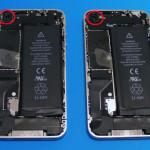 バラしてわかった iPhone 4 ホワイトとブラック