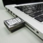 業界最小ハードディスクか?