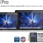 13インチMBPReモデルを480GB SSD へアップグレード