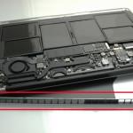 11インチMacBook Air Mid 2013 バラし分解