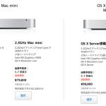 Haswell プロセッサ搭載 Mac mini 発表か