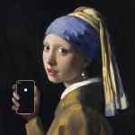 iPhone と世界の名作絵画