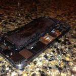 中国で iPHone 5s 発火か