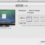 OS X 10.9.3 は4Kディスプレイ対応に
