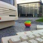 3Dプリンターで懐かしい6色林檎