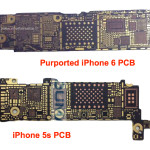 iPhone 6 用のプリント基板か