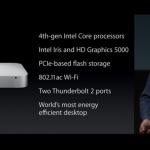 ついにアップデート、Mac mini