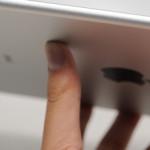 Touch ID搭載の iPad Air 2 モックアップ