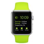 Apple Watch の表示は10時09分