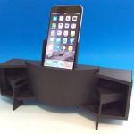 名機 JBL Paragonがミニチュアになった iPhone 用スタンド iHorn Paragon発売