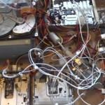 フロッピードライブとハードディスクの共演