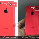 4インチスクリーン搭載の iPhone 6c 用リアハウジング