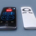 新しい Apple TV は、タッチパッド型リモートコントローラが付属