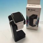 900円のApple Watchスタンドが使いやすい。