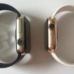 Apple Watch ステンレススチールがローズゴルドに