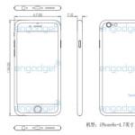 iPhone 6sとされる図面を入手