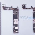 新しいNFCチップが搭載された iPhone 6s 用基板