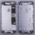 iPhone 6s用とされるリアハウジング部品