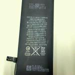 iPhone 6c用とされるバッテリー公開