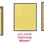 iPhone 6s に内蔵された2種類のA9チップ、省エネタイプはTSM製。