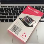 生涯保証がついた iPhonen6s用手帳型レザーケース