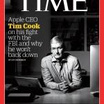 最新版TIME誌の表紙は Tim Cook