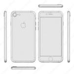 iPhone 7 とされる CADレンダリング画像公開