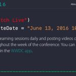 WWDC 基調講演、6月13日午前10時からLive配信