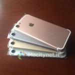 4つのカラーが用意された iPhone 7