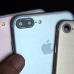 3モデルの iPhone 7 シリーズのモックアップ
