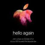 Apple、27日にスペシャルイベント開催