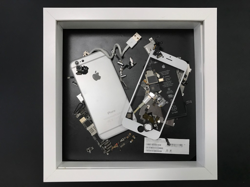 Disassembled iPhone6 frame