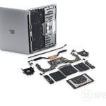 Touch Bar 搭載13インチMacBook Proの分解バラし