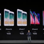 iPhone 8 と iPhone X、どちらを買うか…