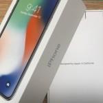 iPhone X、さっそく未来を手にした。