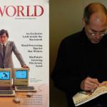故Steve Jobsのサイン入り Macworld誌がオークションに