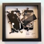 """第8弾、バラし分解して元に戻さないアート """"iPhone 7"""""""