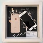 """第9弾、バラし分解して元に戻さないアート """"iPhone 8"""""""