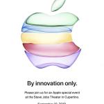 'By Innovation Only'、Appleスペシャルイベントは9月10日