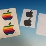 Appleのステッカー、どう使う?