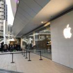 Apple川崎、オープンに1600人の行列