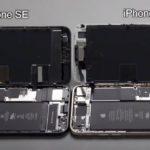 新しい iPhone SE の分解バラしは iPhone 8で学んだとおり