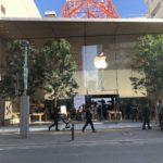 Apple 福岡と名古屋栄、27日から営業再開